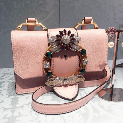 Pink Miu Lady Bag