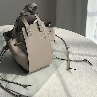 Light Oak Hammock Drawstring Mini Bag