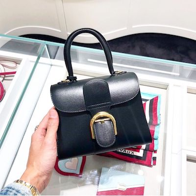 Brilliant S Cloud Black Mini Satchel