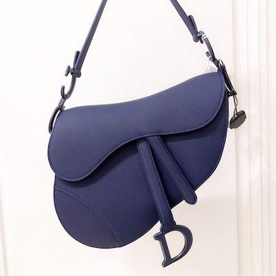 Blue Dior Saddle