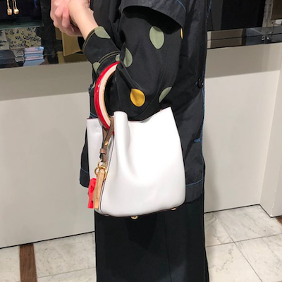 White Marni Treasure Pannier