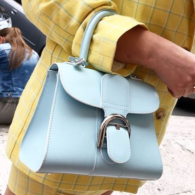 Brilliant S Cloud Blue Mini Satchel