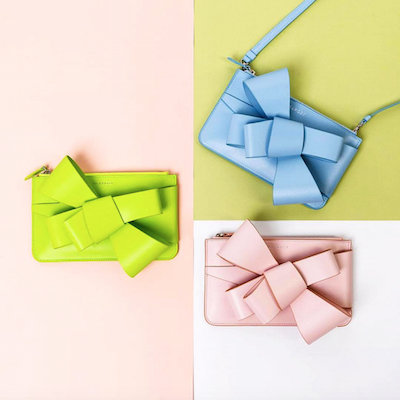 Asymmetric Bow Clutch