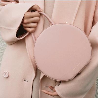 Pink Coral Circle Bag