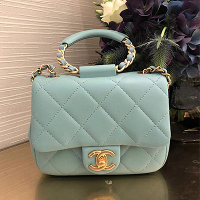 Small Flap Bag SS20 with Chain