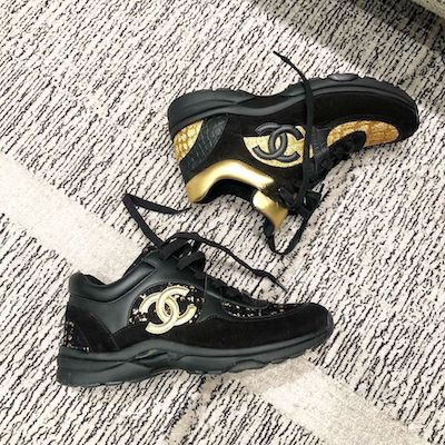 Black Gold Sneakers