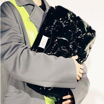 Black Large Glam Slam Bag
