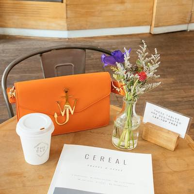 Carrot Logo Purse