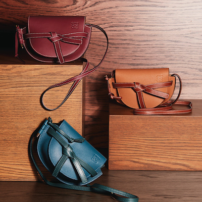 Maroon Gate Mini Saddle Bag