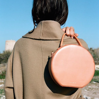 Brown Calf Circle Bag