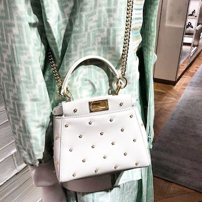 Peekaboo XS Star Leather Mini-bag