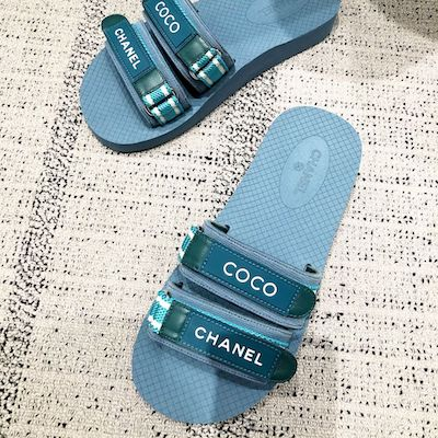 Blue Coco Slippers
