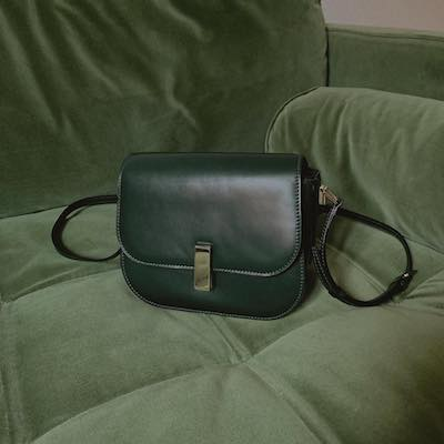British Green Gioiello Cross Body