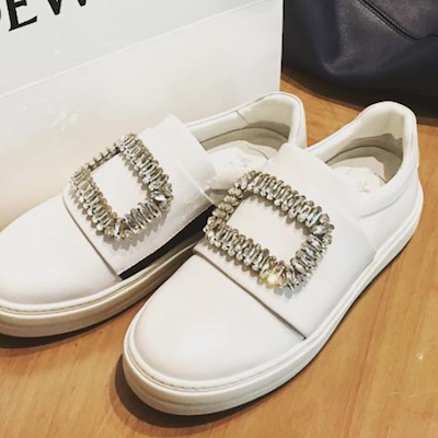 Strass Buckle Sneakers