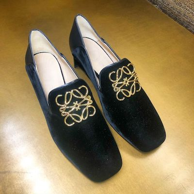 Loafer Anagram 35 Black
