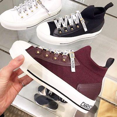 Walk'n'Dior Maroon Sneaker