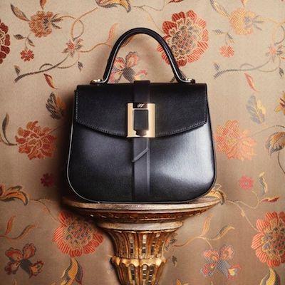 Black Beautiful Vivier Bag