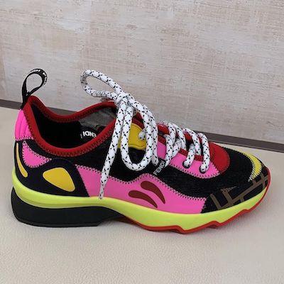 Fendi Roma Amor fabric Sneakers