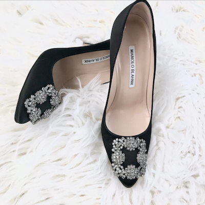 Black Hangisi Pumps