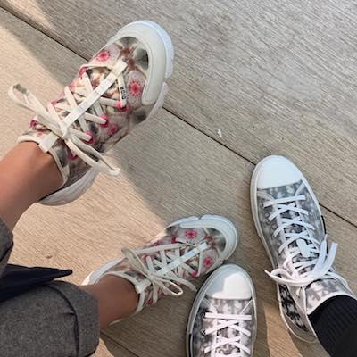 D-Connect Kaleidiorscopic Sneaker