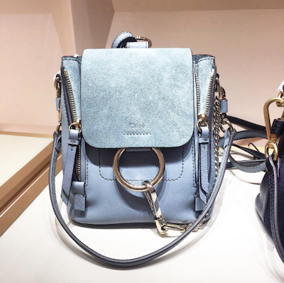 Blue Faye Mini Backpack