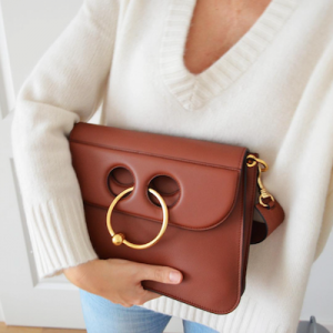 Ring Detail Shoulder Bag