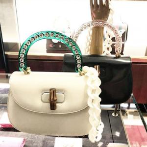 Bamboo Medium Top Handle Bag