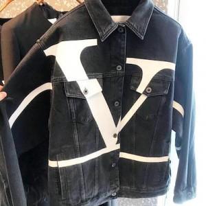 Ceconstructed Go Logo Print Denim Jacket