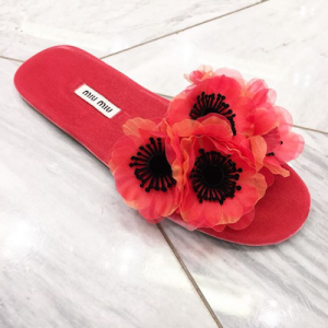 Peony Pink Sandals