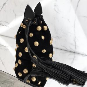 Studded Buckle Bag