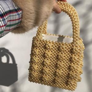 Antonia Faux-pearl Embellished Bag