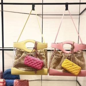Chanel 31 Shopping Bag PVC Calfskin with Silvertone Metal