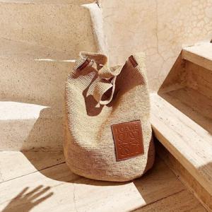 Slit Medium Bag Natural
