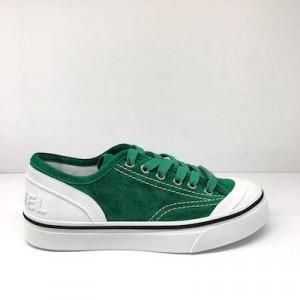 Green CC Suede Sneaker