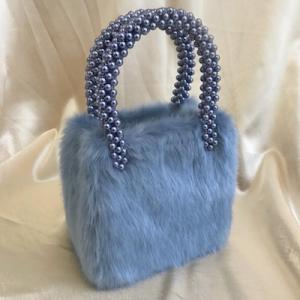 Una Faux-fur Bag