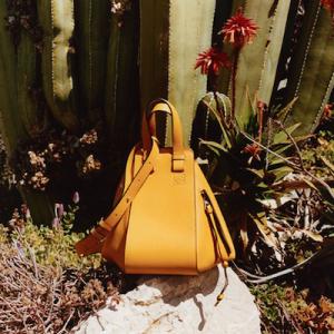 Yellow Loewe Hammock Bag